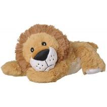 opwarmknuffel leeuw 30 cm lichtbruin