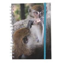 notitieboek A5 aap