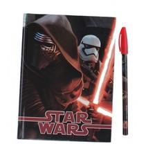 notitieboek met pen Star Wars 17 x 12,5 cm