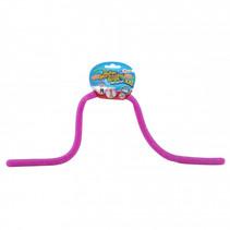 rekbaar touw met glitters junior paars 5 meter