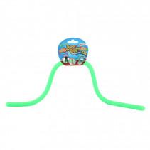 rekbaar touw met glitters junior groen 5 meter