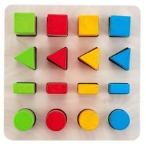 leerspel geometrisch vormen 21 cm