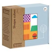 blokkenset Shape Cubes 12-delig