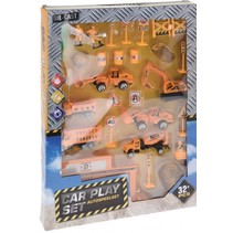 speelset bouw 32-delig oranje