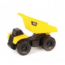 kiepwagen 10 cm geel/zwart