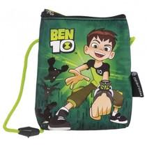 tasje Ben 10 groen/zwart 11x14x0.2 cm