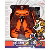 autorobot 18 cm 3-delig oranje