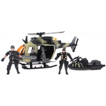speelset leger Army Forces helicopter/waterski