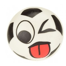 squishy klevende voetbal wit 6,5 cm