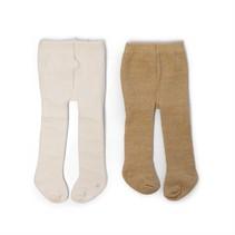 maillots voor pop 30-35 cm 2 stuks crème/goud