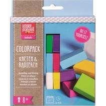 boetseerklei-gum junior Colorpack Fun 6-delig