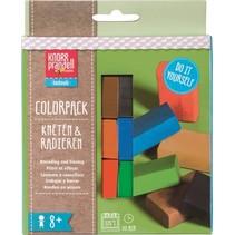 boetseerklei-gum junior Colorpack Basic 6-delig