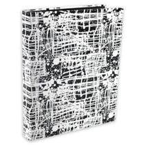 ringband Zepp 23-rings A4 karton zwart/wit