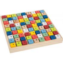 """Kleurrijke Sudoku """"Educate"""" Multicolor 17 x 17 x 2 cm"""