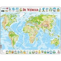legpuzzel Maxi Wereld 80 stukjes