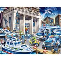 legpuzzel Maxi de politie 43 stukjes