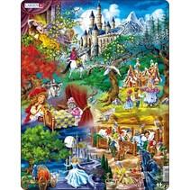 legpuzzel Maxi de sprookjes van Grimm 33 stukjes