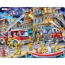 legpuzzel Maxi de brandweermannen 45 stukjes