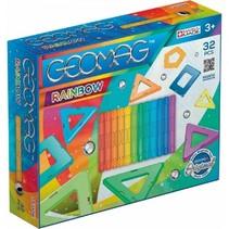 Rainbow multicolor 32-delig