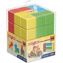 MagiCube Pre-school Free Building 16-delig multicolor