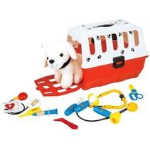 speelset puppy met bench