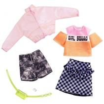 kledingset tienerpop rok en short 2-delig