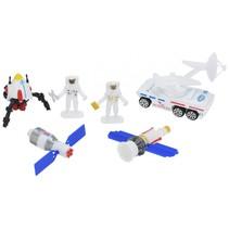 speelset Space Team diecast 6-delig