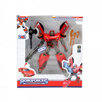 Roboforces transformation robot rood