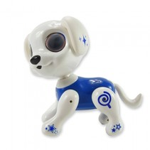 interactieve robot Robo Smart Puppy 22 cm blauw