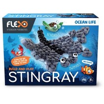 bouwpakket Ocean Life - Stingray junior 194-delig