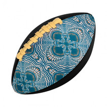 rugbybal Change Color 15,2 cm rubber paars
