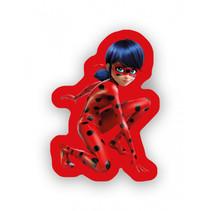 kussen meisjes 35 cm polyester rood