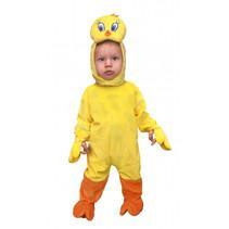 verkleedpak Tweety junior katoen geel