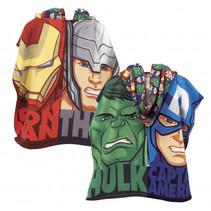 poncho Avengers 60 x 120 cm microfiber