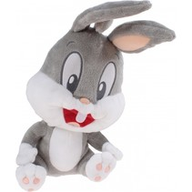 knuffel Looney Tunes Bugs Bunny 30 cm grijs