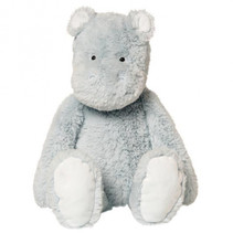 knuffel Charming Charro Hippo 28 cm lichtblauw