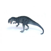 dinosaurus Acrocanthosaurus junior 19 cm rubber grijs