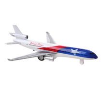 vliegtuig Aero Jet 19,5 cm die-cast blauw/rood/wit