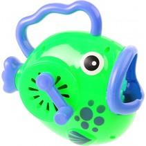 bellenblaasmachine vis 14 cm groen