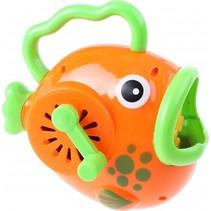 bellenblaasmachine vis 14 cm oranje