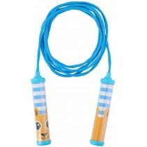 springtouw blauw 230 cm