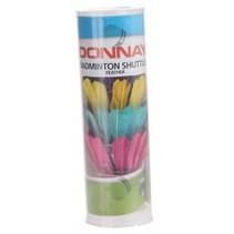 Badminton shuttles veren multicolor 5 stuks