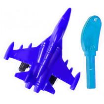 straaljager lanceersleutel jongens 5 cm blauw 2-delig