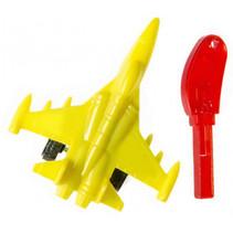 straaljager lanceersleutel jongens 5 cm geel 2-delig