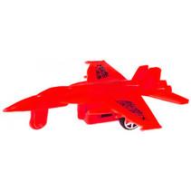 straaljager pull back jongens 10 cm rood