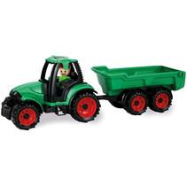 tractor Truckies jongens 36,5 x 10,5 cm groen/rood