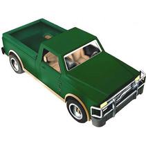 truck pick-up jongens 24 cm ABS groen