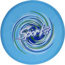 frisbee 58 cm junior nylon blauw