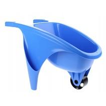 kruiwagen 50 cm blauw