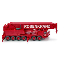 miniatuurvoertuig Grove TM 1100E die-cast zink 1:87 rood